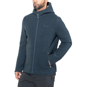 Salewa Sarner 2L Wool Full-Zip Hoody Men poseidon